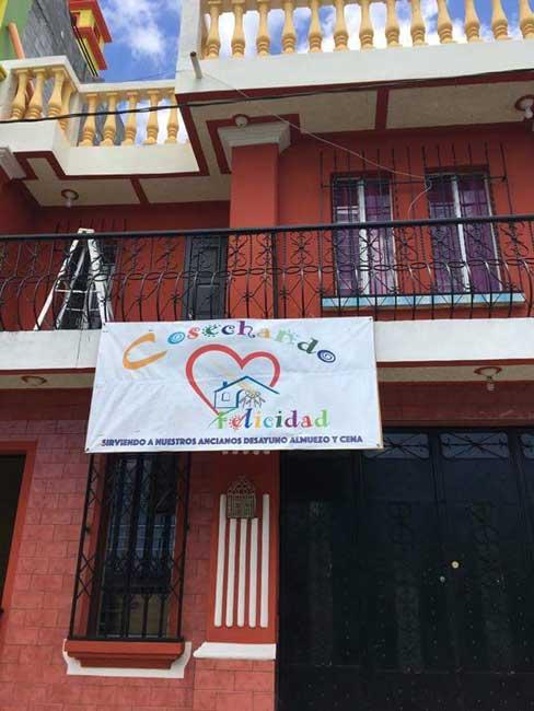 Cosechando Felicidad's building in Santa Maria