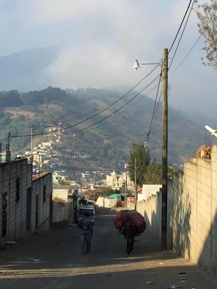 A view of Santa Maria