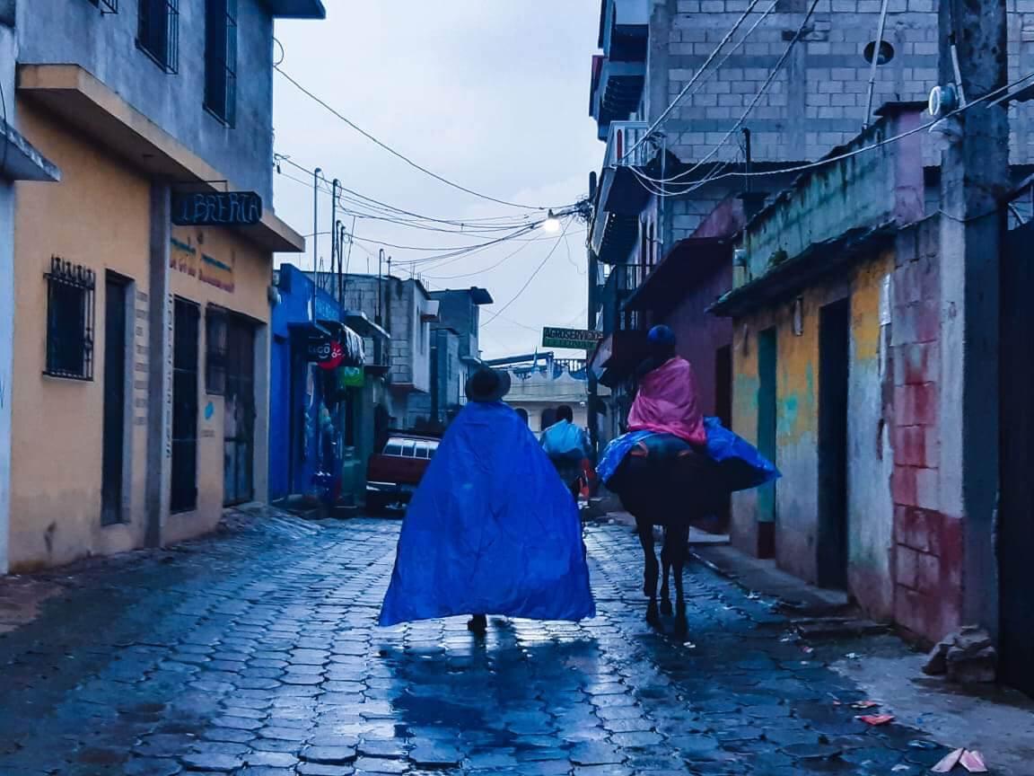 Streets of Santa Maria de Jesus, Guatemala.