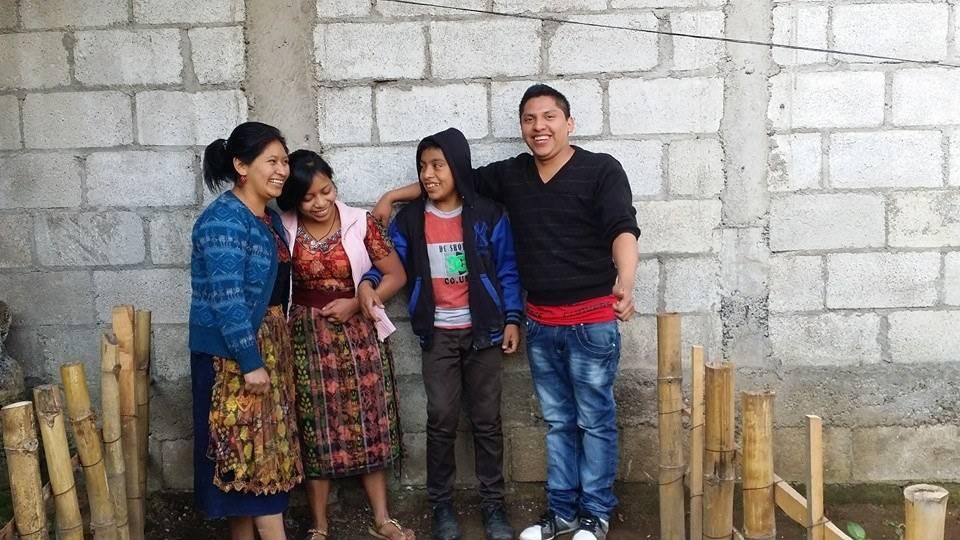 Guatemalans smiling